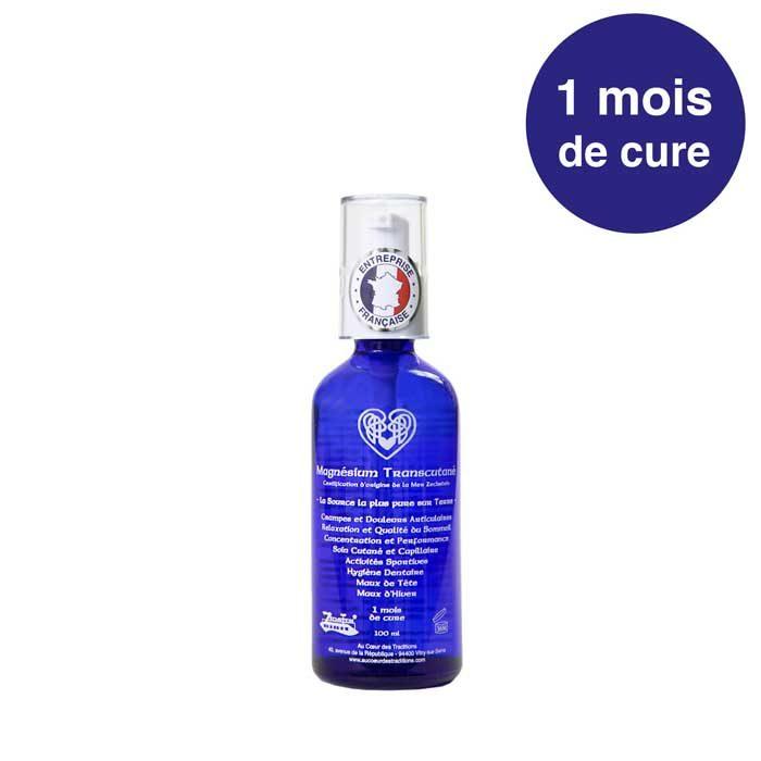 Magnésium Transcutané Vaporisateur 100 ml En Verre Noble